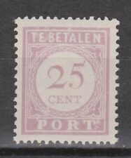 P27 Port nr.27 ongebruikt MLH Suriname portzegel  due stamp