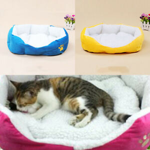 Warming Pad Dog Bed Cuddler with Removable Cover Small Size for Cats Dogs