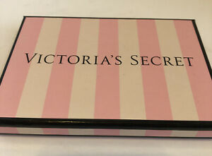 Victorias Secret Gift Card Panty Box Wrapping PINK Stripe 6 X 4 Holiday