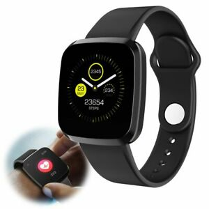 Smart Watch Heart Rate Sleep Monitor Fitness Activity Tracker for iPhone Android