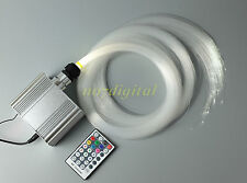 RGBW fiber optic light kit 200pcs twinkle stars house deocoration ceiling light