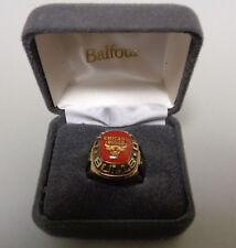 Balfour NBA Chicago Bulls Ring Size10 Gold.Brand new.(BX20/34)