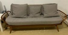 Original Vintage Ercol Blonde Studio Couch Day Bed. Goldsmith Style Sofa