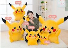 "32"" 80cm EXTRA Large Pokemon Pikachu Doll Toy Stuffed Soft Plush"