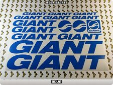 GIANT Stickers Decals Bicycles Bikes Cycles Frames Forks Mountain MTB BMX 59BI