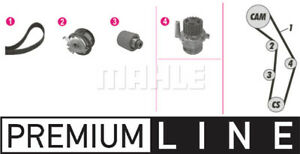 Mahle Behr Timing Belt Kit CPK 25 000P fits VW GOLF MK V 1K1 1.9 TDI