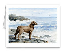 Chesapeake Bay Retriever At The Beach Set of 10 Note Cards With Envelopes