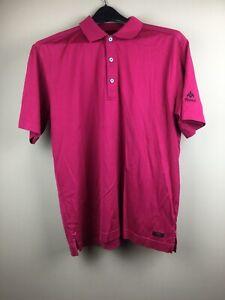 Callaway Men's XL Polyester Golf Polo Shirt In Plum