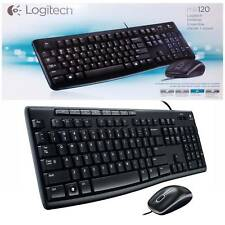Logitech MK120 Desktop Set USB QWERTY Keyboard And Optical Mouse
