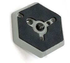 """Hexagonal Quick Release Plates 3049 1/4"""" Screw For Manfrotto #030-14 RC0 3063"""