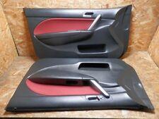 2001 2005 JDM HONDA CIVIC EP TYPE R 2DOOR RED BLACK KOUKI DOOR PANELS SET OEM