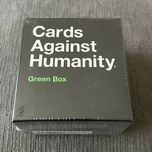 Cards Against Humanity Green Box 300 Card Expansion Pack Brand New Factory Seal