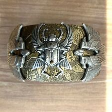 Vintage Egyptian revival cuff hand made