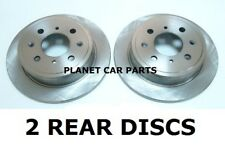 ROVER 800 820 825 827  2 BRAND NEW REAR BRAKE DISCS ! !