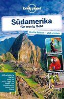Lonely Planet Reiseführer Südamerika für wenig Geld (Deutsch)