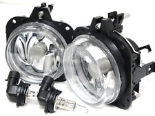 For 2002-05 Eclipse 2004-08 Galant GLASS Lens Fog Light Lamp RL A Pair W/2 Bulbs