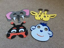 Fancy Dress Foam Jungle Zoo Farmyard Insect Animal Pirate Masks Party Bag Filler