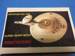 Star Trek Model USS Spock Scout Ship Starship Resin Kit