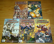 Transformers: Best of Uk - Space Pirates #1-5 Vf/Nm complete series simon furman