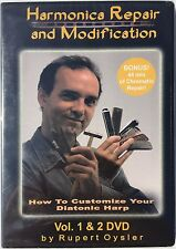 Rupert Oysler Harmonica Repair and Modification Dvd Set Harmonica Customization