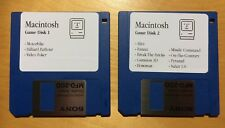 Apple Macintosh Gamers Pack! 2 floppy disks for Plus, SE or Classic (800k disks)