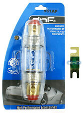 DNF PREMIUM 4 6 8 GAUGE ANL MINI FUSE HOLDER  + 125 AMP FUSE - SHIPS FREE TODAY!