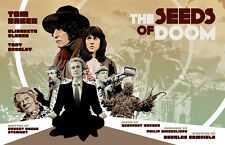 Doctor Who | Fan Art | Tom Baker - The Seeds of Doom | 17 x 11 Digital Print