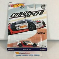 Audi R8 LMS * WHITE * 2018 Hot Wheels * EURO Speed Car Culture * ZA31