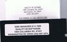 TI-99/4A @@@@ RARE DISK MANAGER IV  & INSTRUCTIONS @@@@