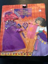 Disney Festival of Fools Esmeralda doll fashion costume hunchback of Notre dame