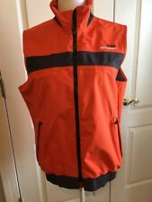 Aigle Actimum Vest, Orange and Black, Men's Size M (new)