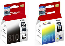 GENUINE Canon PIXMA PG-810 and CL-811 FINE Cartridges (2pcs) - Assorted