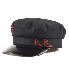 Newsboy Hat Cap Ruslan Baginskiy RB X Look Women's Baker Boy Bogger Style Black