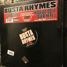 BUSTA RHYMES • Get Down • Vinile 12 Mix • 2006 INTERSCOPE