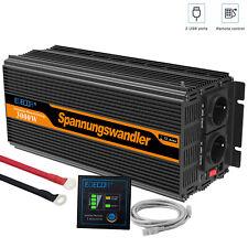 Convertisseur 24v 230v 3000w 6000w Onduleur Transformateur de tension Softstart