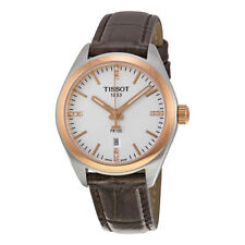 Tissot Genuine Leather Round Wristwatches