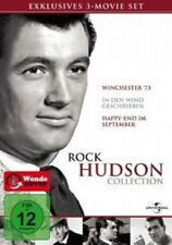 ROCK HUDSON COLLECTION - 3 DVD NEUWARE ROCK HUDSON,JAMES STEWART,SHELLEY WINTERS