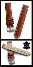 Cinturino Orologio Vera pelle 26 Mm extra lungo, Eccellente Qualità, Nere