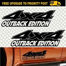 4x4 OFF ROAD 4WD decals OUTBACK car Stickers PAIR 330mm Camper Trailer Car