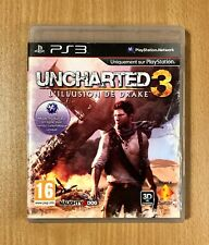 UNCHARTED 3 Drake's Illusion for PS3 disc with box