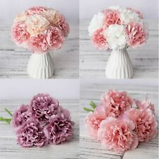 Silk Peony Flowers Bouquet Wedding Home Decor Bridal Flower Valentines Day Gift