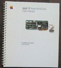 Vintage Apple II Super Serial Card User's Manual 1985 030-1258-B