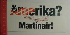Aufkleber/Sticker: Amerika Martinair (12071627)