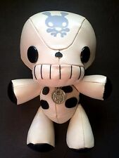 "Junko Mizuno Dokuro-san Skeleton Friends Plush Designer Toy 8"" w/ Necklace 2003"