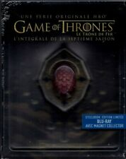 GAME OF THRONES, Staffel 7 (4 Blu-ray Discs) Steelbook + Magnet-Siegel NEU+OVP