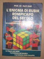PROF. DR. KURT ENDL - L'ENIGMA DI RUBIK ROMPICAPO DEL SECOLO - 1981 WURFEL (DF)