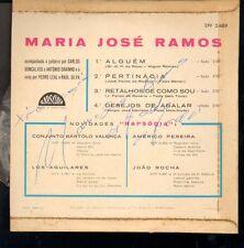 Maria Jose Ramos - Brazillian (I think) pop singer - signed record jacket w/ rec