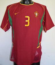 Portugal #3 match worn shirt jersey camiseta camisa trikot maglia maillot porté