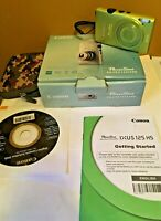 Canon PowerShot ELPH110HS Digital Camera Wide-Angle 24mm Optical 5x Zoom (GREEN)