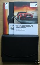 BMW 2 Serie Coupe F22 Manual Owners Manual Cartera 2013-2016 Pack 1218